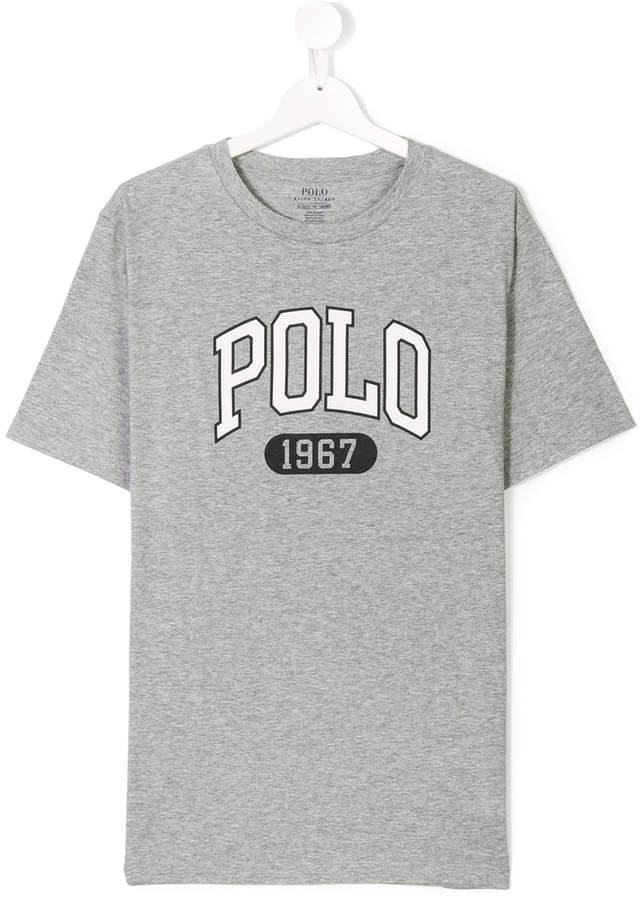 TEEN logo print T-shirt