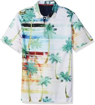 Bugatchi Men's Palm Polo