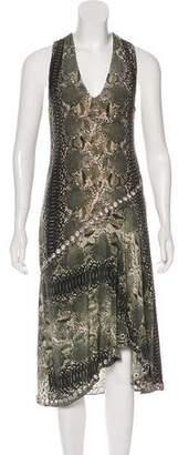 Haute Hippie Silk Snakeskin Print Dress w/ Tags