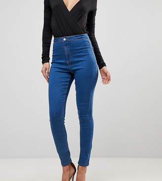 Missguided Tall Vice High Waisted Super Stretch Skinny Jean