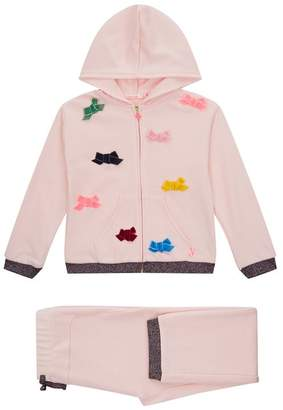 Billieblush Bow Embroidered Tracksuit