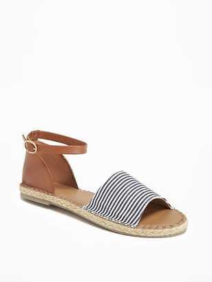 Ankle-Strap Canvas Espadrilles for Women $24.94 thestylecure.com