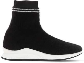 Crime 20mm Afeni Knit Sock Sneakers
