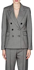 Isabel Marant Women's Helsey Wool Double-Breasted Blazer - Gray