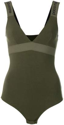 Paco Rabanne fitted bodysuit
