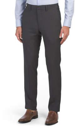 Slim Fit Textured Weave Dress Pants
