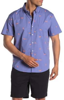J.Crew J. Crew Printed Regular Fit Shirt
