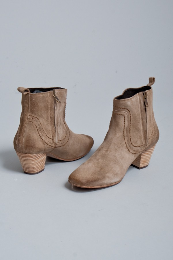 H By Hudson Shoes Bella Suede Bootie