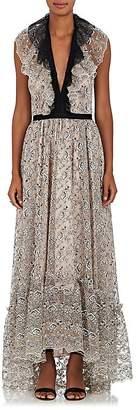 Philosophy di Lorenzo Serafini Women's Floral Lace Maxi Dress
