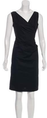 Armani Collezioni Pleated Sheath Dress w/ Tags