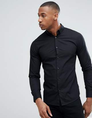 ONLY & SONS Cotton Shirt With Button Down Collar