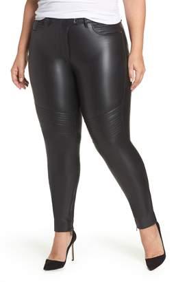 Marina Rinaldi ASHLEY GRAHAM X Richi Faux Leather Pants
