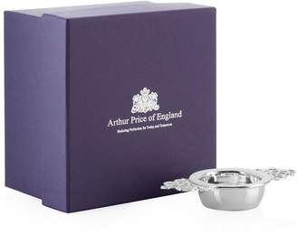 Arthur Price Of England Tea Strainer and Stand