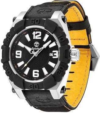 Timberland Men's Hookset Nylon Strap Watch, 43mm