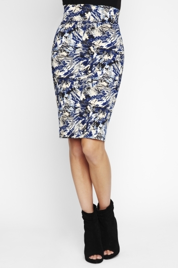 Bcbgeneration Printed Pencil Skirt