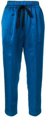 Forte Forte cropped drawstring trousers