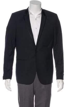 The Kooples Wool Tuxedo Blazer