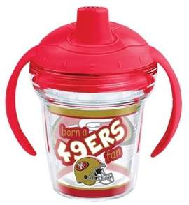 Tervis NFL San Francisco 49ers Born A Fan 6oz Sippy Cup with Lid