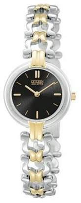 Citizen Women's EW9304-53E Eco-Drive Silhouette Two-Tone Watch