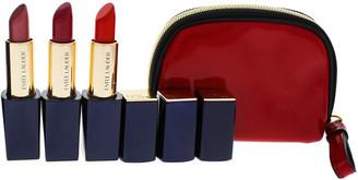 Estee Lauder Women's 3Pc 410 Dynamic, 240 Tumultuous Pink, 330 Impassioned 3 Pure Color Envy Sculpting Lipstick
