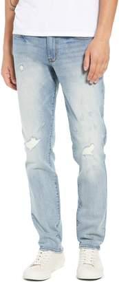 The Rail Rip & Repair Skinny Jeans