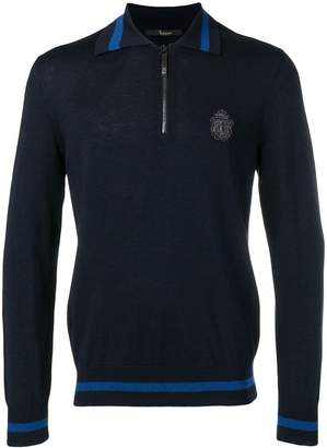army crest polo jumper