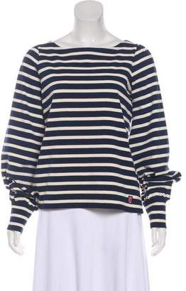 Marc Jacobs Striped Long Sleeve Top
