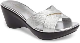 Athena Alexander Verna Wedge Slide Sandal