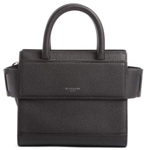 Givenchy Nano Horizon Grained Calfskin Leather Tote