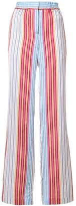 Paul Smith striped wide-leg trousers
