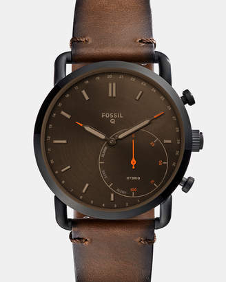 Fossil Hybrid Smartwatch Q Commuter Dark Brown