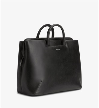 Matt & Nat Matt And Nat Kintla Vintage Satchel - Black