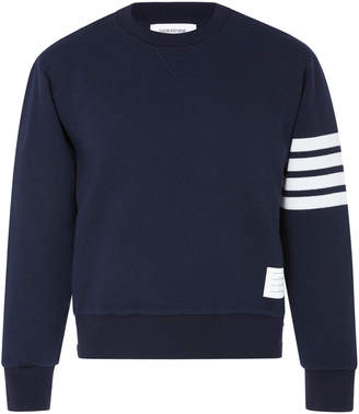 Thom Browne Cashmere And Cotton-Blend Sweatshirt