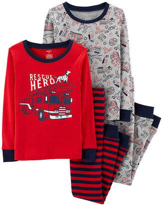 Carter's 4-pc. Pajama Set - Preschool Boys