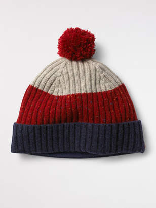 White Stuff Spennie Colourblock Bobble Hat