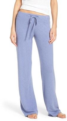 Women's Make + Model 'Best Boyfriend' Brushed Hacci Lounge Pants $45 thestylecure.com