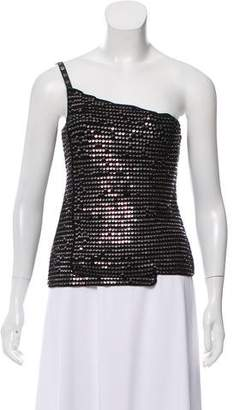 Chanel Sequin Embellished Crocheted Top