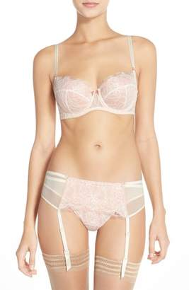 B.Tempt'd 'b.sultry' Lace Front Thong
