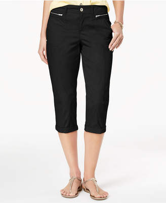 Style&Co. Style & Co Petite Cuffed Capri Pants, Created for Macy's