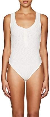 Onia Women's Jenny Ribbed Sleeveless Bodysuit