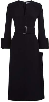 Victoria Beckham Belted Shift Dress