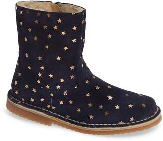 Boden Sparkle Leather Booties
