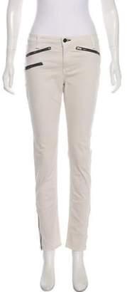 Rag & Bone Zip-Accented Mid-Rise Skinny Jeans Zip-Accented Mid-Rise Skinny Jeans