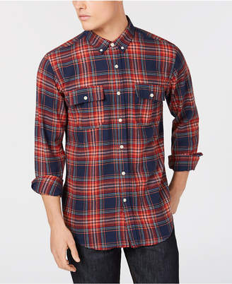 Ezekiel Men's Maverick Yarn-Dyed Plaid Utility Shirt