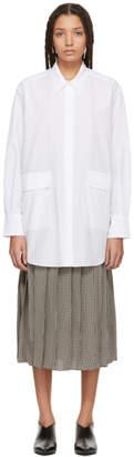 Sara Lanzi White Oversized Shirt