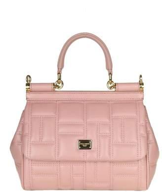 0bbc95e8d28a Dolce   Gabbana Handbag miss Sicily In Nappa Matelasse Color Pink