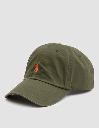 Polo Ralph Lauren Classic Sports Cap in Expedition Olive