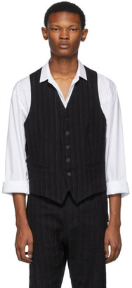 Ann Demeulemeester Black Algernon Waistcoat