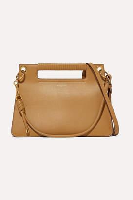 Givenchy Whip Medium Leather Shoulder Bag - Mustard