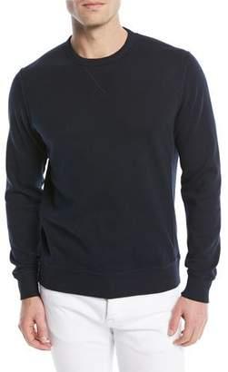 Brunello Cucinelli Men's Solid Cotton-Blend Sweatshirt